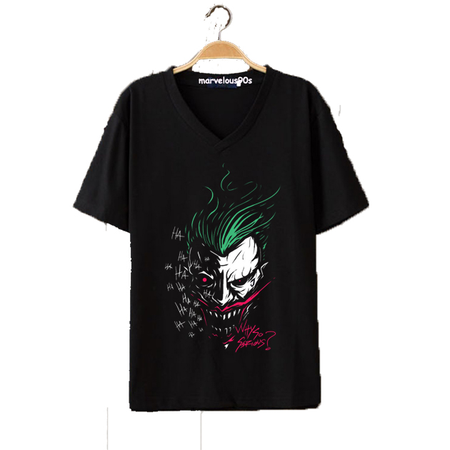Joker V-Neck T-Shirt